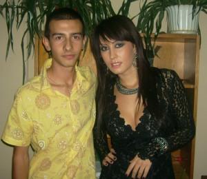Джена с интервюращия Николай Еков